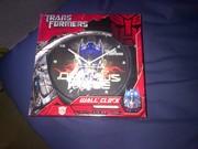 Brand new Transformer clock.